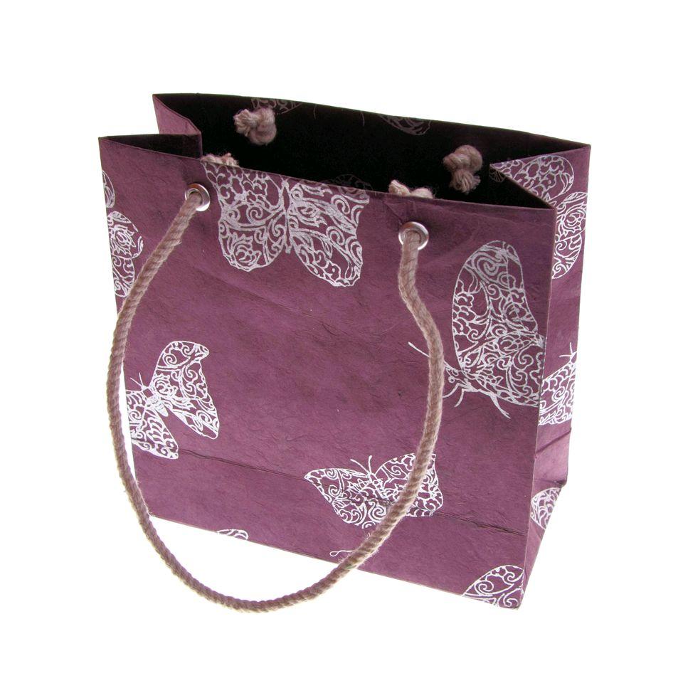 Fair Trade Butterfly Gift Bag Small 125 Fair Trade