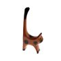 Cat Ring Holder - Brown