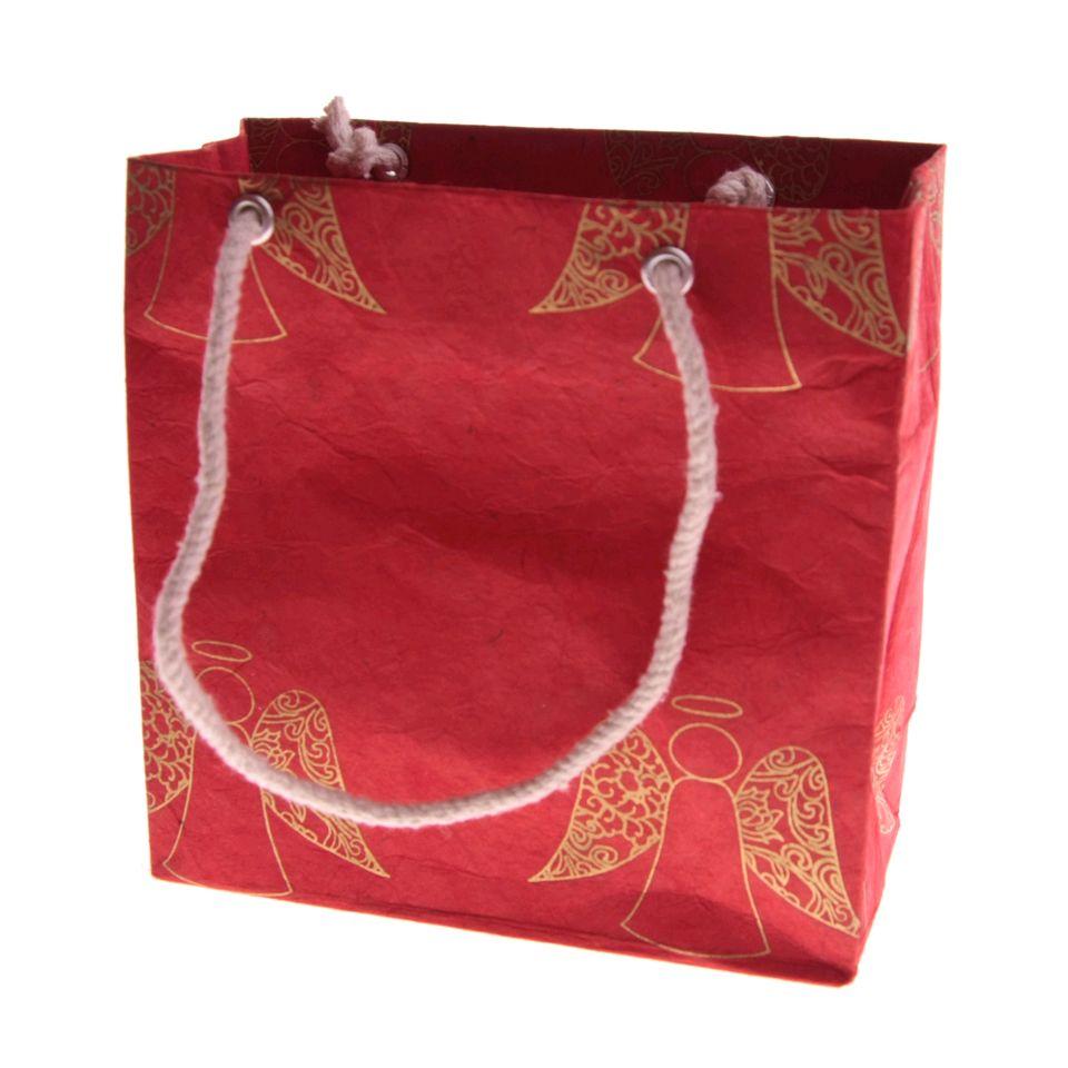 Fair Trade Christmas Angel Gift Bag