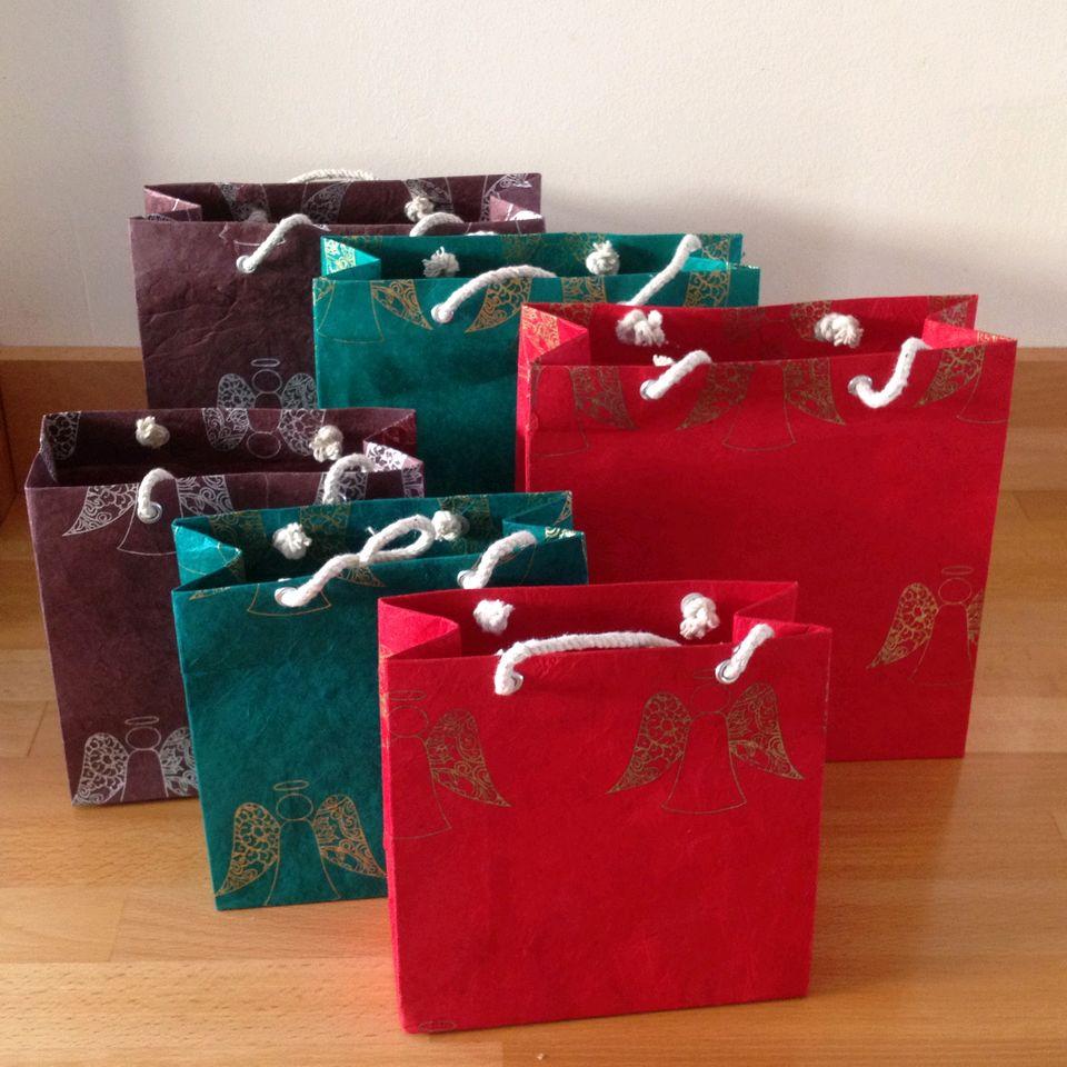 Fair Trade Christmas Angel Gift Bag Small 187 163 1 25 Fair