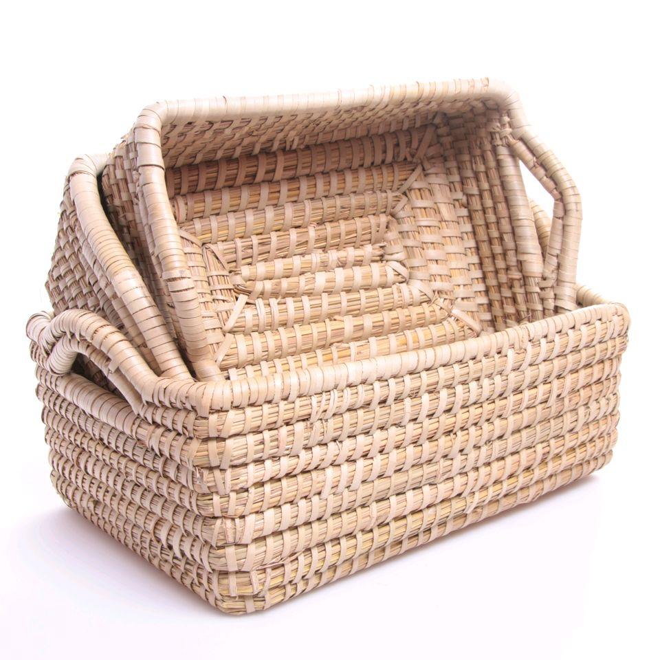 fair trade hamper basket set fair trade product. Black Bedroom Furniture Sets. Home Design Ideas