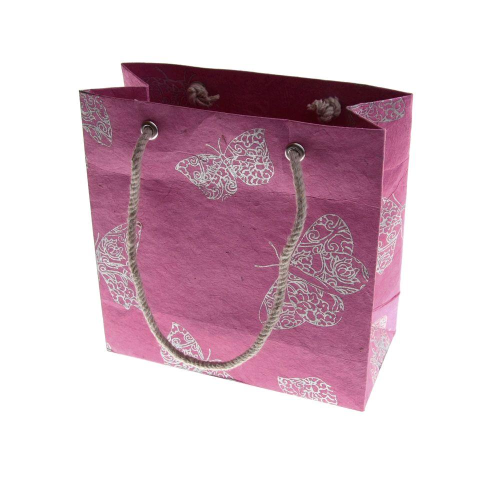 Fair Trade Butterfly Gift Bag Small 187 163 1 25 Fair Trade
