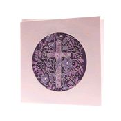 Purple Cross Card