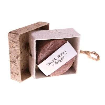 Fair Trade Vanilla, Honey and Ginger Soap Gift Box » £3.75 - Fair Trade Product