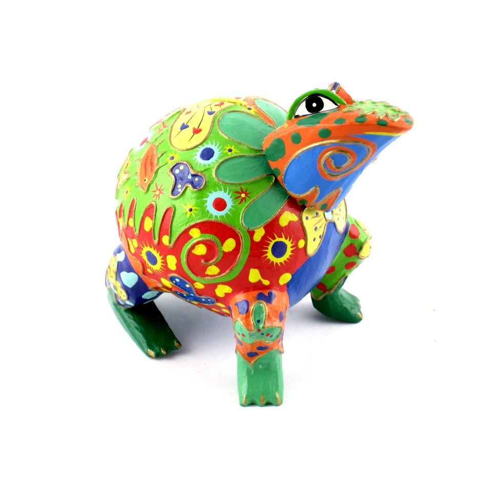 Fair Trade Frog Money Box 699 Fair Trade Product