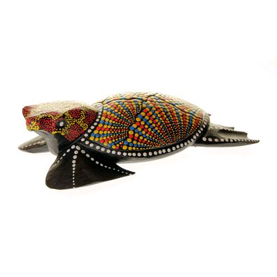 Fair Trade Large Aboriginal Turtle » £14.99 - Fair Trade Fathers Day Gifts