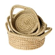 Round Handled Basket Set