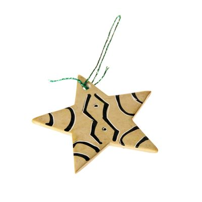 Fair Trade Soapstone Star » £1.99 - Fair Trade Christmas Gifts