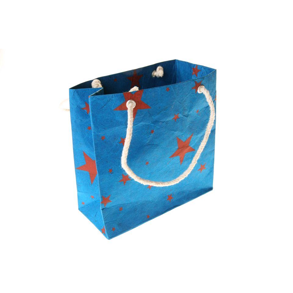 Fair Trade Blue Star Gift Bag Small 187 163 1 25 Fair Trade