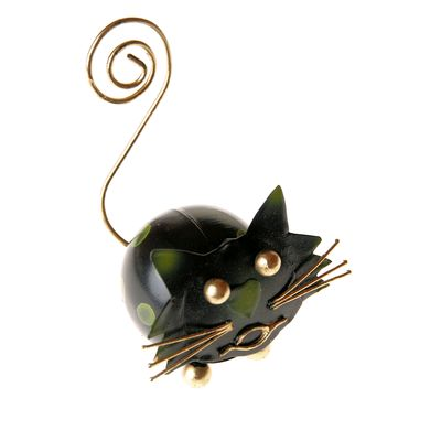 Fair Trade Cat Card Holder Ornament » £4.99 - Fair Trade Stocking Fillers