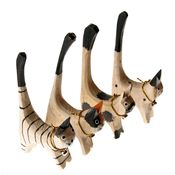 Natural Cat Ring Holder Set
