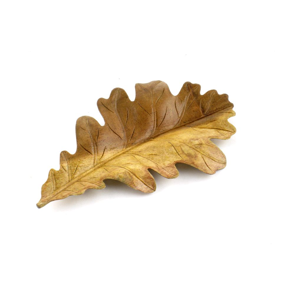 Fair Trade Oak Leaf Carving 1099 Fair Trade Product