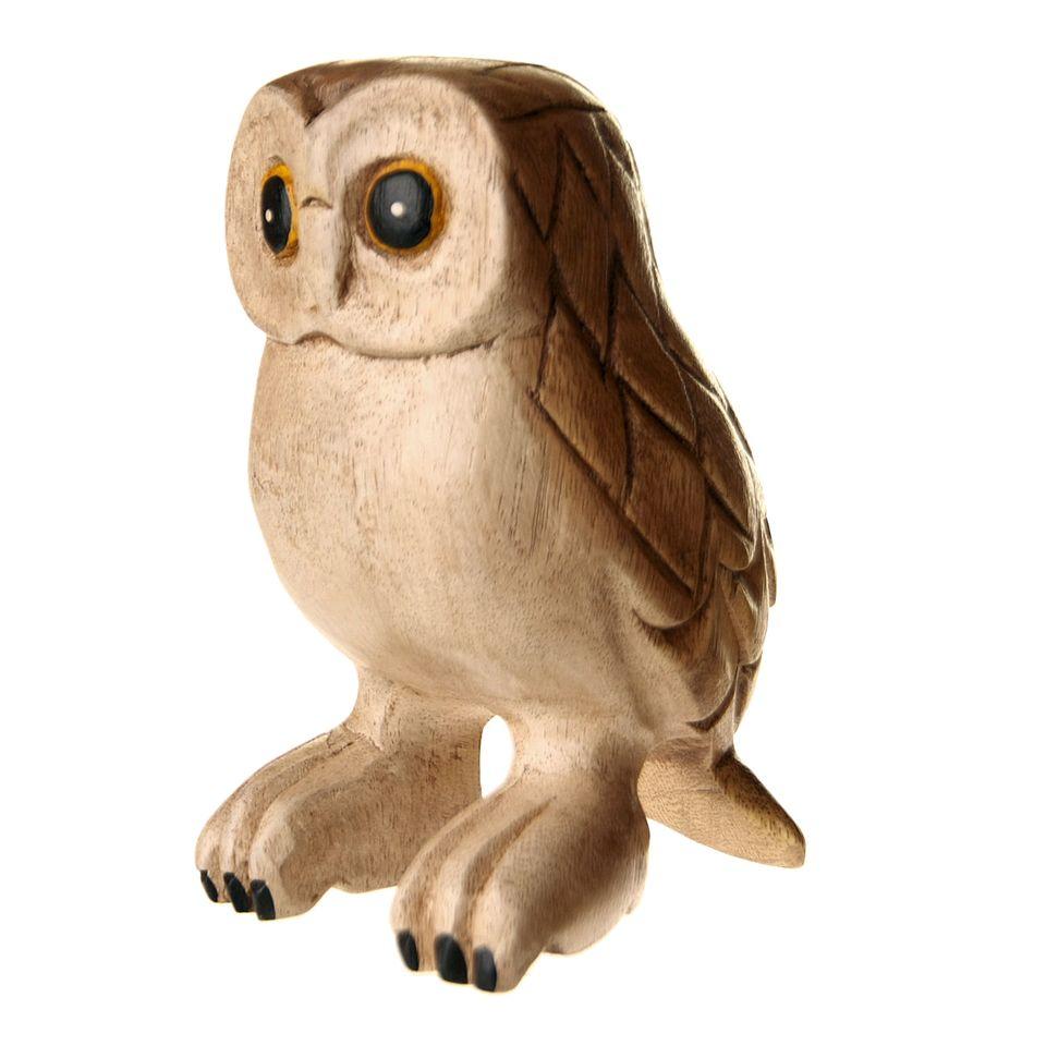 fair trade wooden barn owl  u00bb  u00a314 99