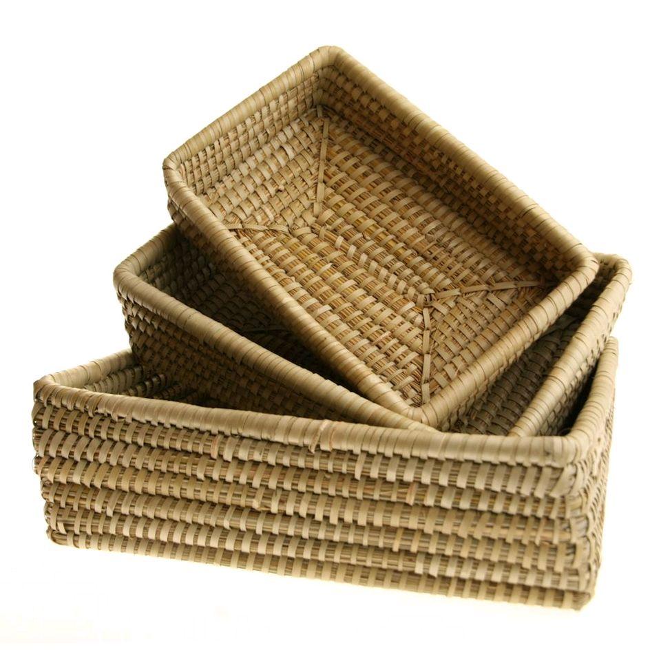 Fair Trade Rectangular Basket Set 187 163 8 99 Fair Trade Product