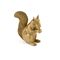 Wooden Carved Squirrel