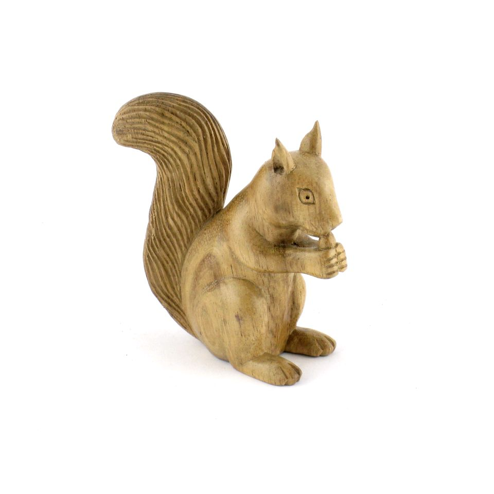 Fair Trade Squirrel Carving 187 163 9 49 Fair Trade Product