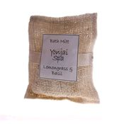 Lemongrass and Basil Bath Mitt